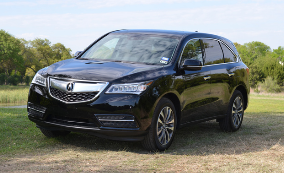 2015 Acura MDX Owners Manual
