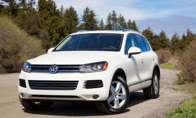 2012 Volkswagen Touareg Owners Manual