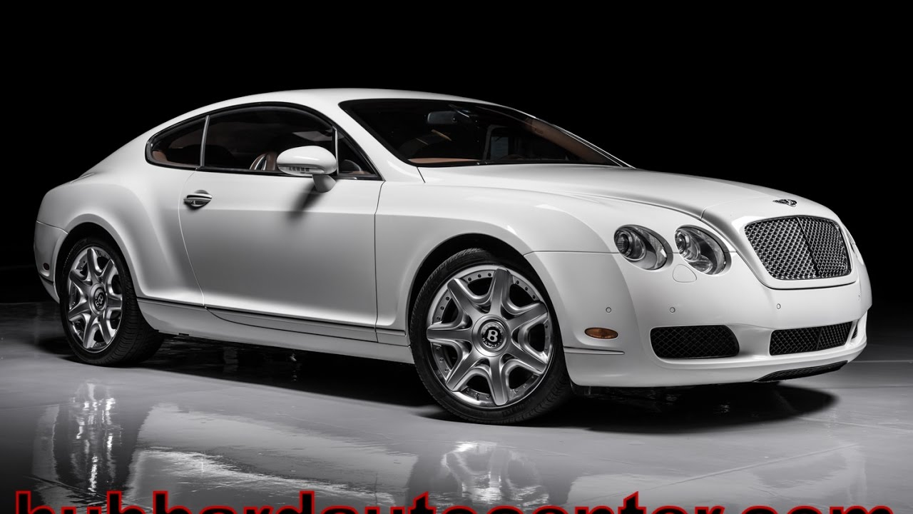 2007 Bentley Continental GT YouTube