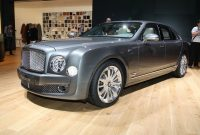2012 Bentley Mulsanne Mulliner Driving Specification Top