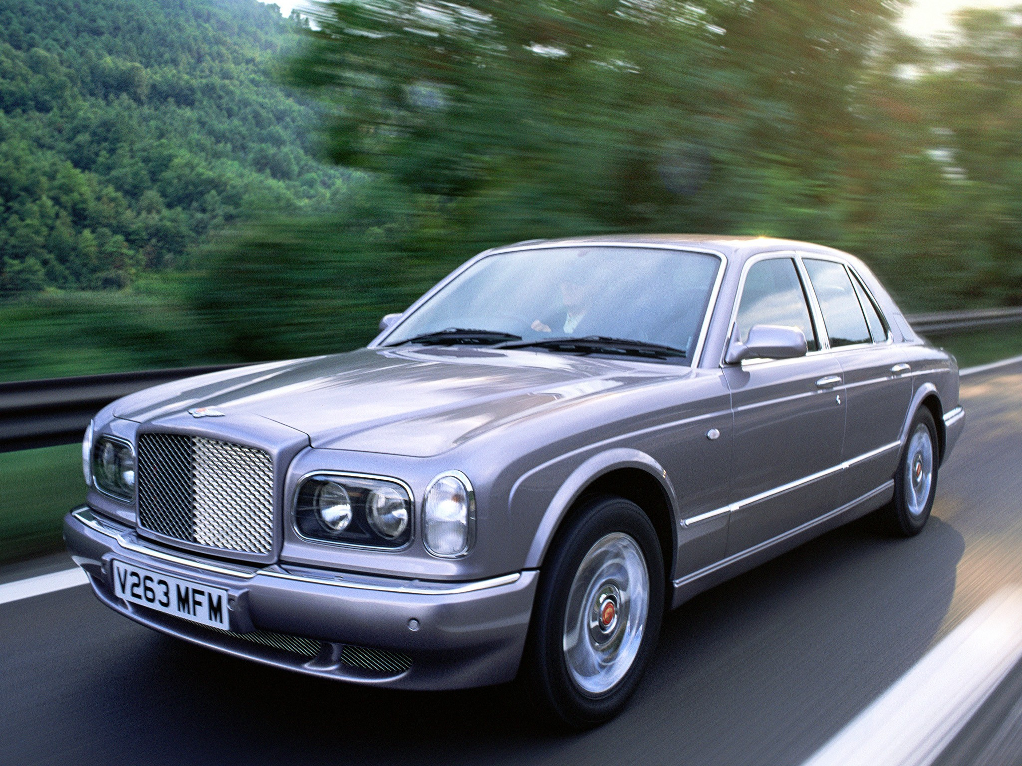 BENTLEY Arnage Red Label Specs Photos 1999 2000 2001