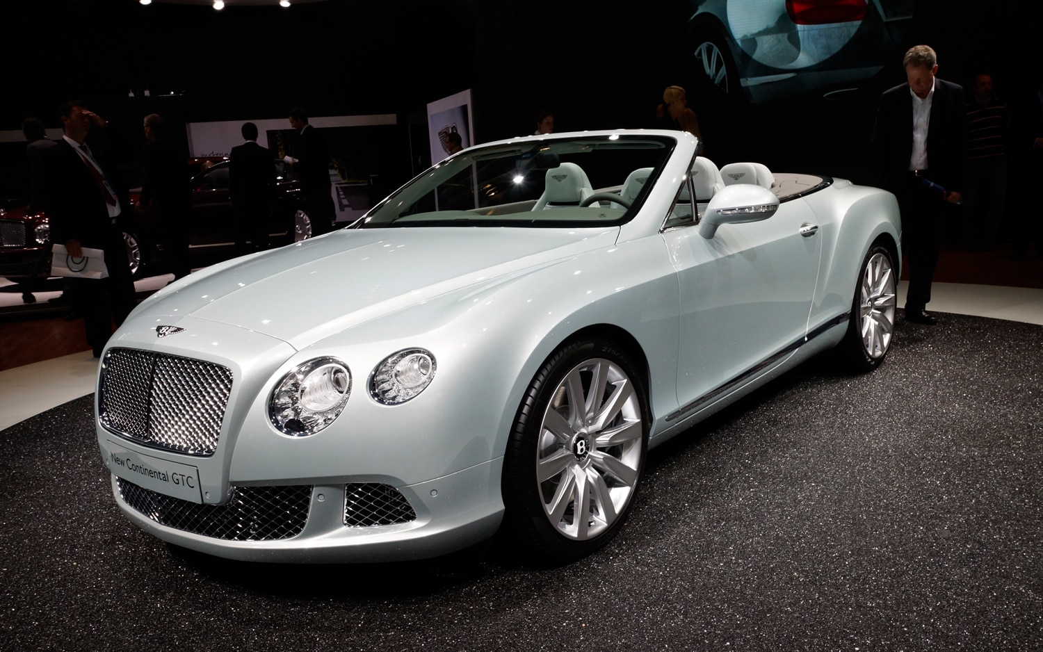 First Look 2012 Bentley Continental GTC Automobile Magazine