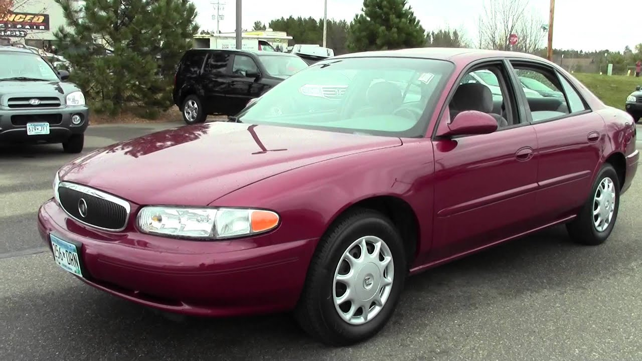 2003 Buick Century Custom 6H150031A YouTube