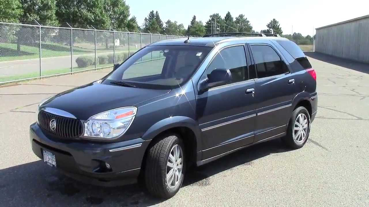 2004 Buick Rendezvous AWD YouTube