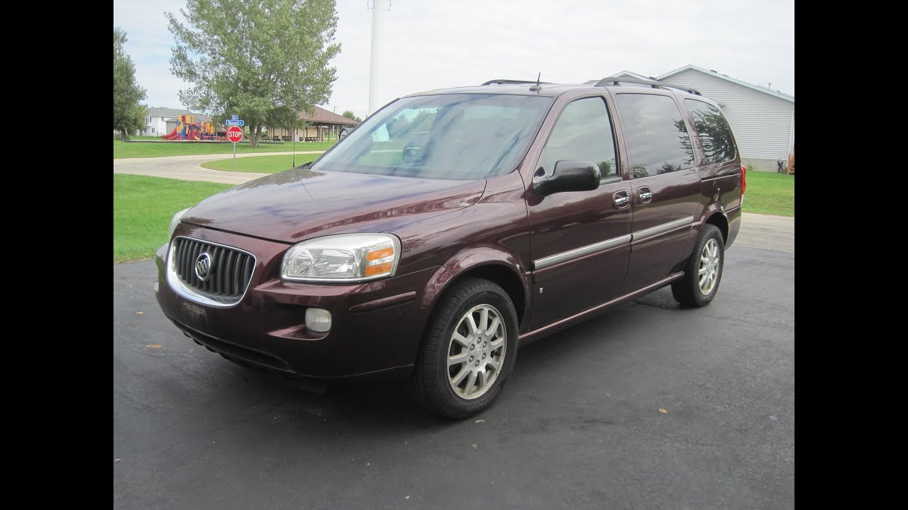 2006 Buick Terraza Tour YouTube