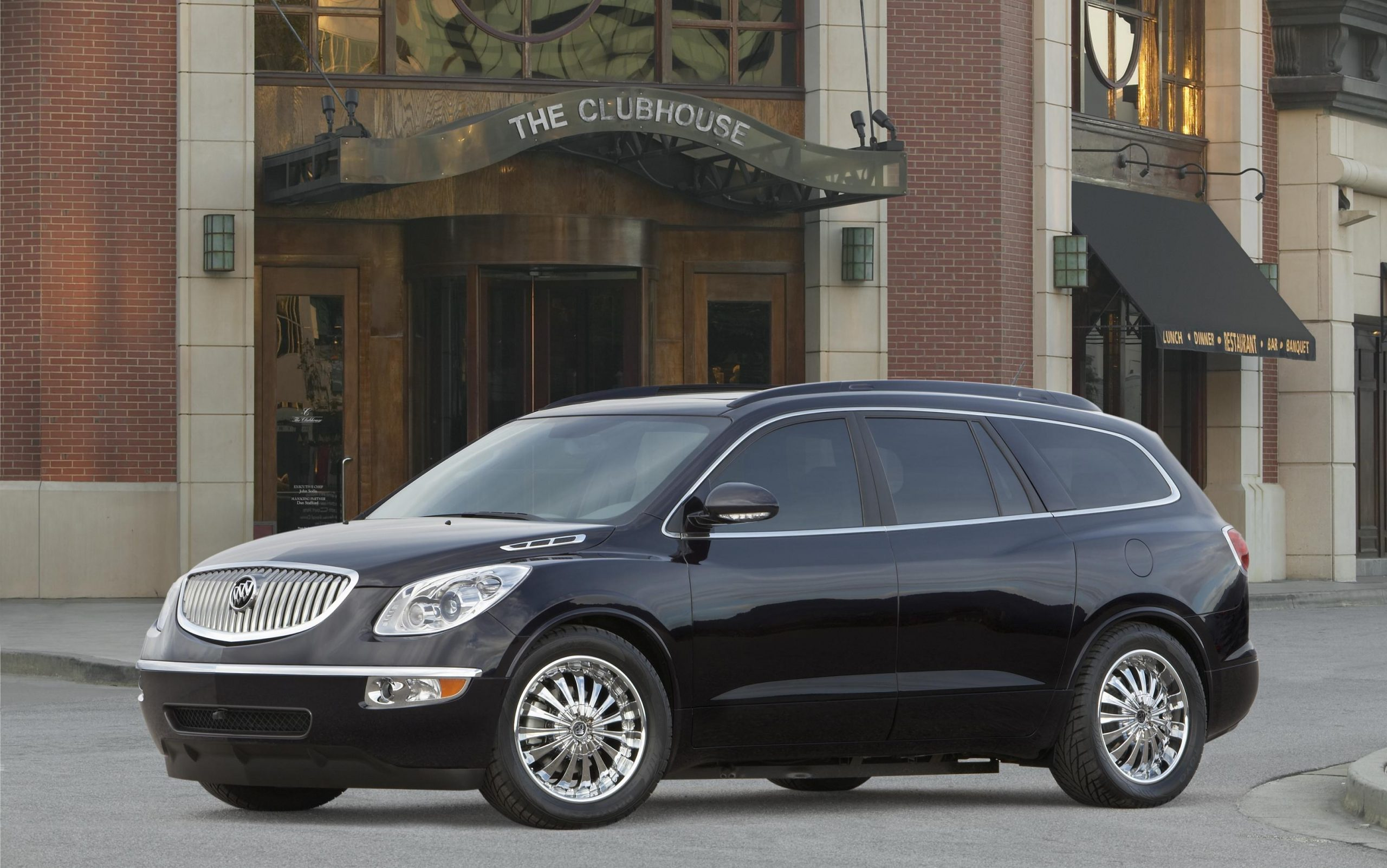 2008 Buick Enclave Black Platinum Edition Top Speed