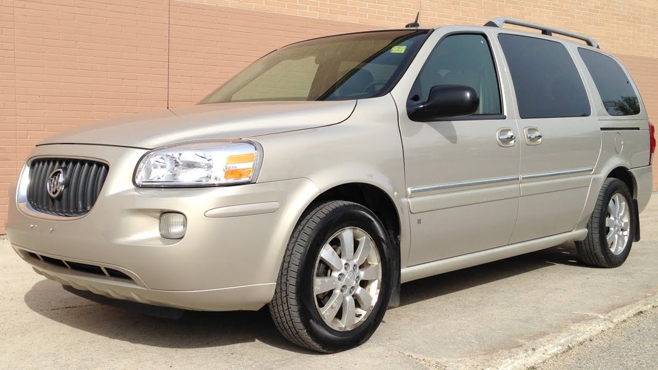 Used 2007 Buick Terraza CXL Review From Ride Time In
