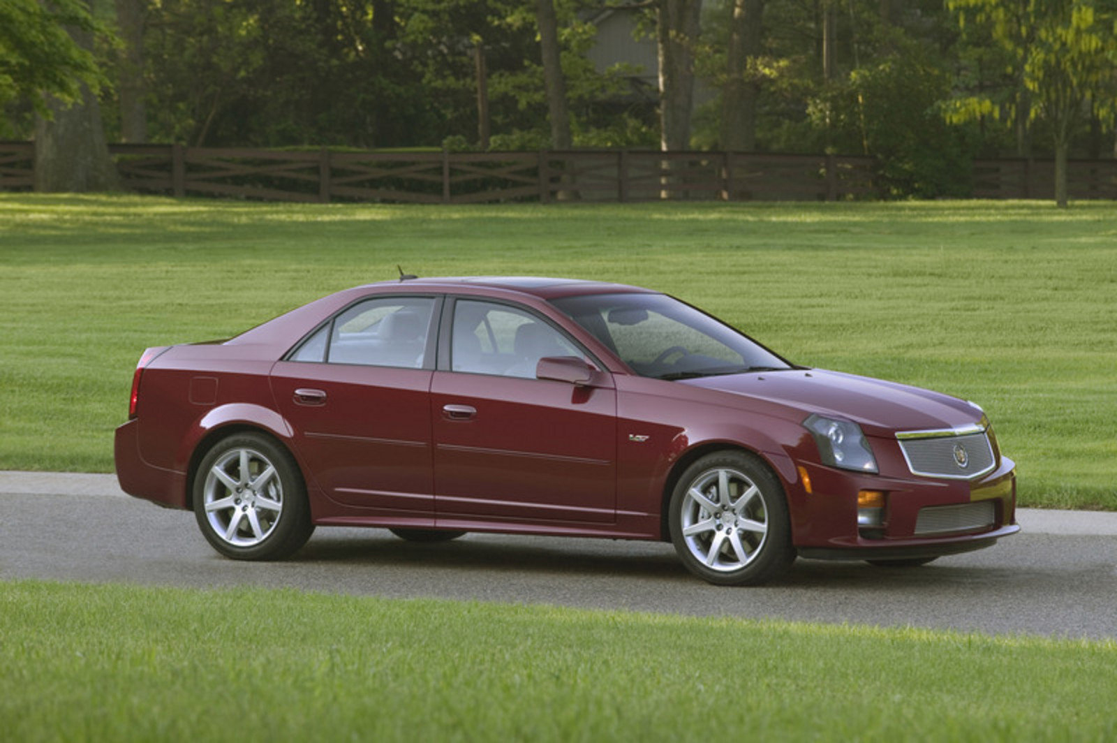 2007 Cadillac CTS V Top Speed