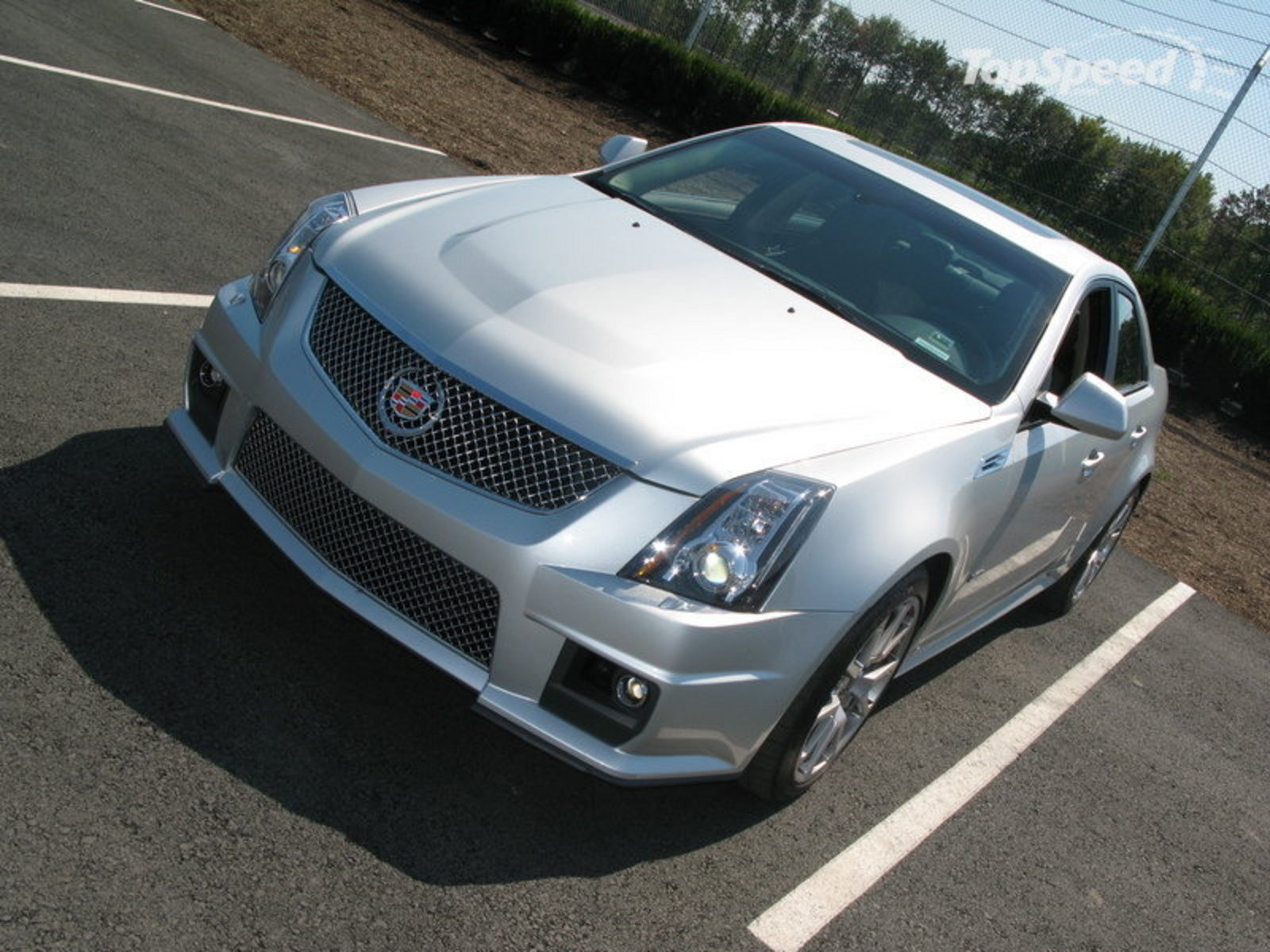 2008 Cadillac CTS V Review Top Speed