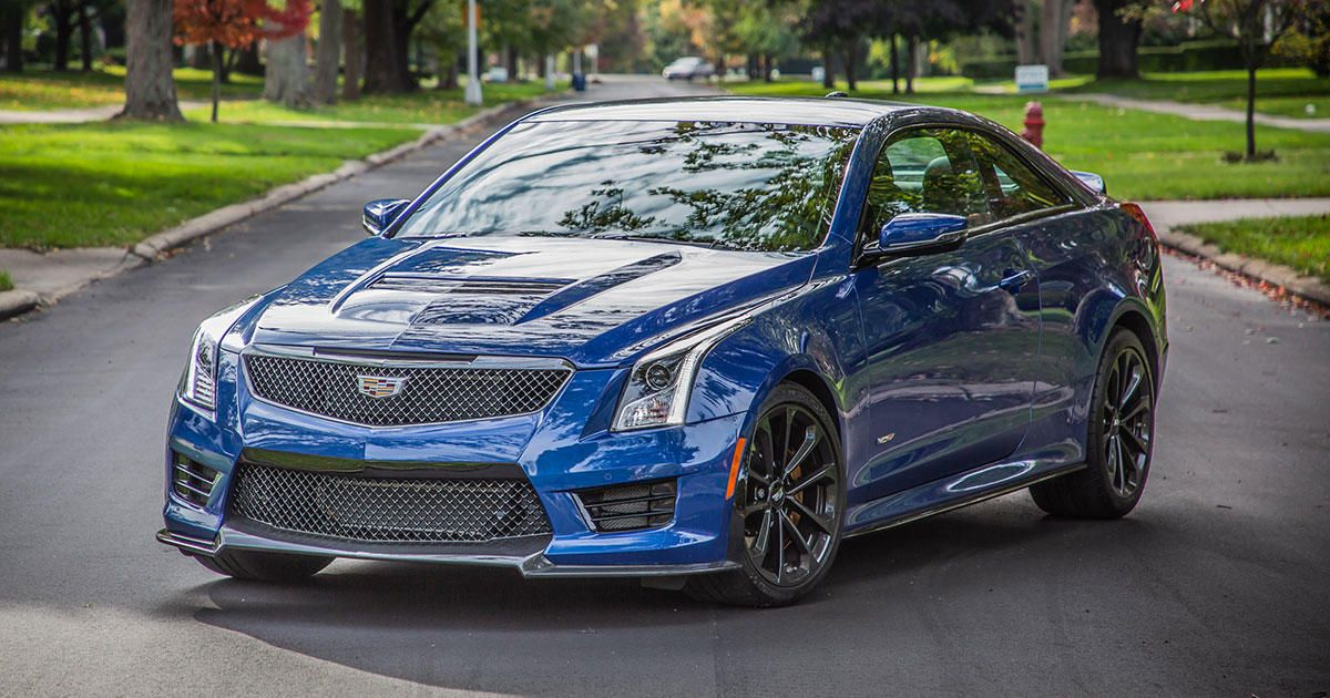 2019 Cadillac ATS V Coupe Review One Last Spin In The M4