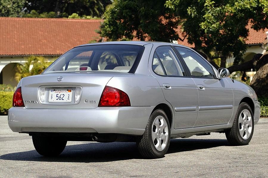 2005 Nissan Sentra Overview Cars