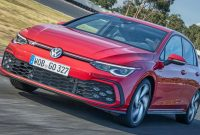2021 VW Golf GTI Escapes Studio Gets Photographed And