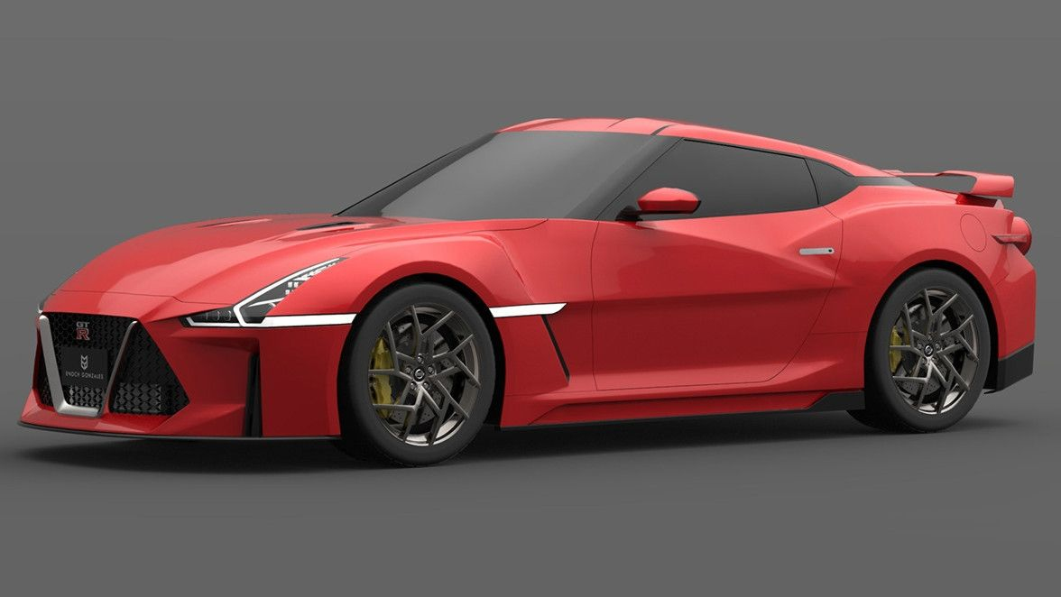 No This 2021 Nissan GT R Is Not The New GT R