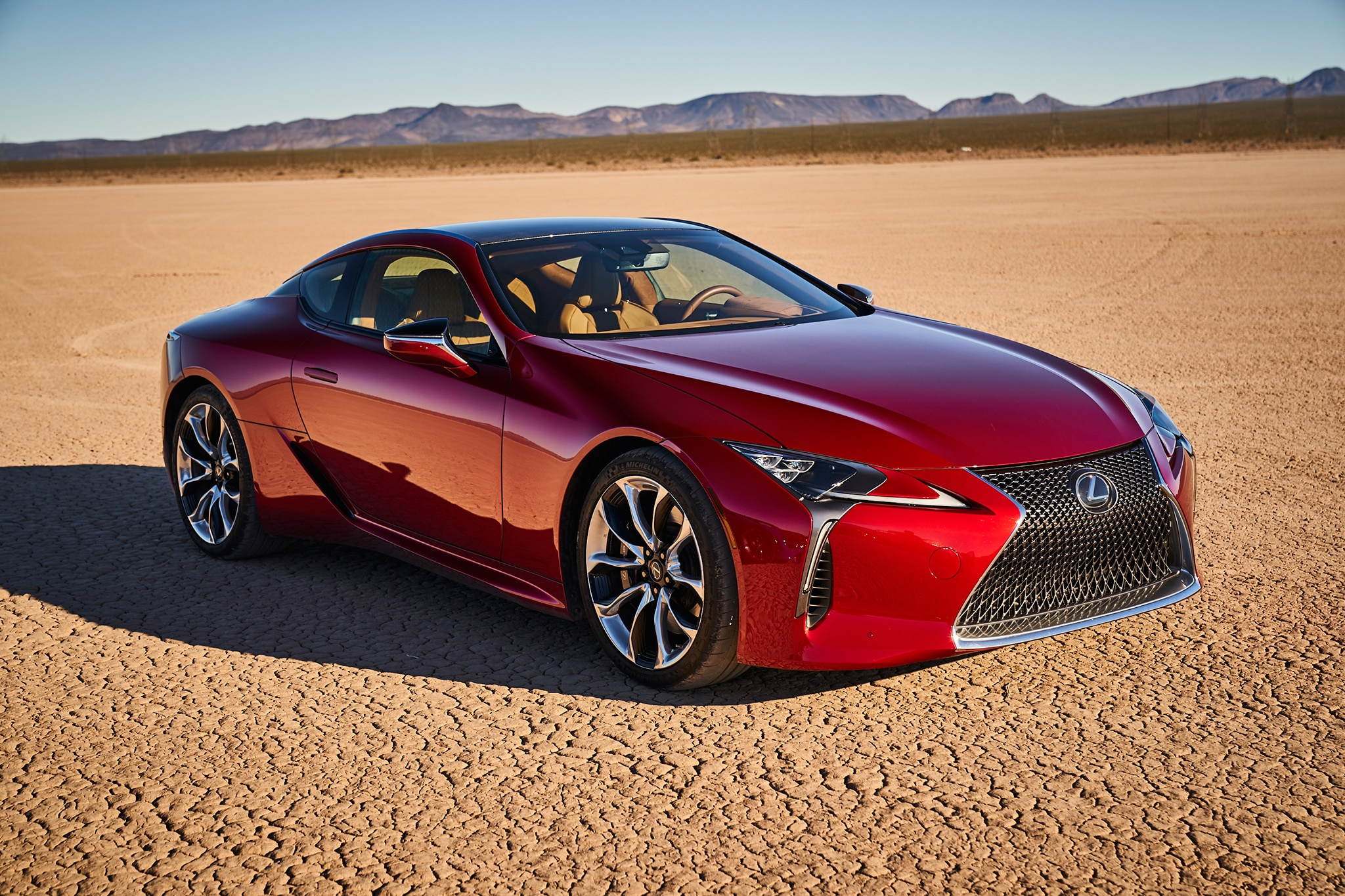 2018 Lexus LC 500 Owners Manual