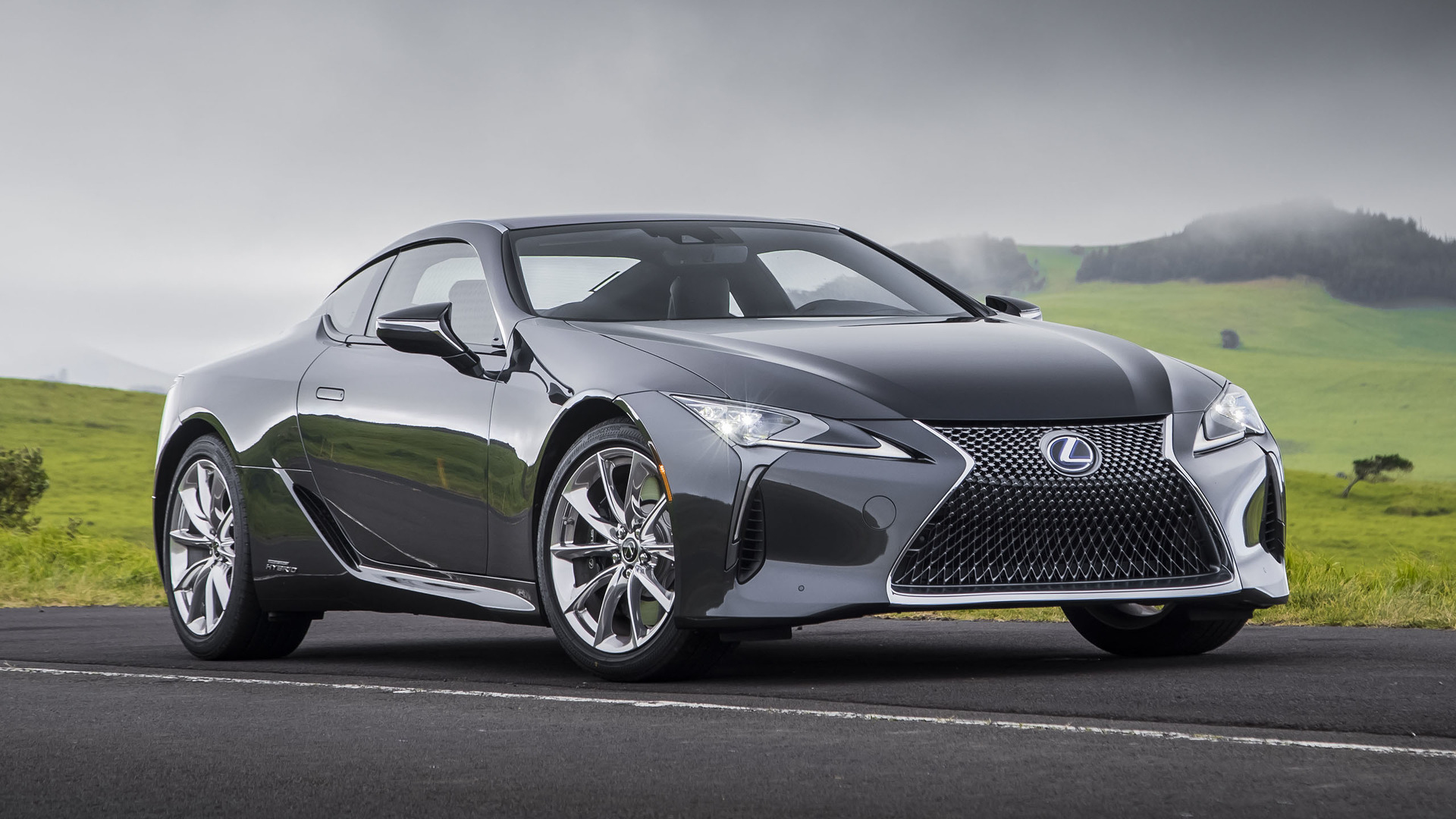 2018 Lexus LC 500h Owners Manual