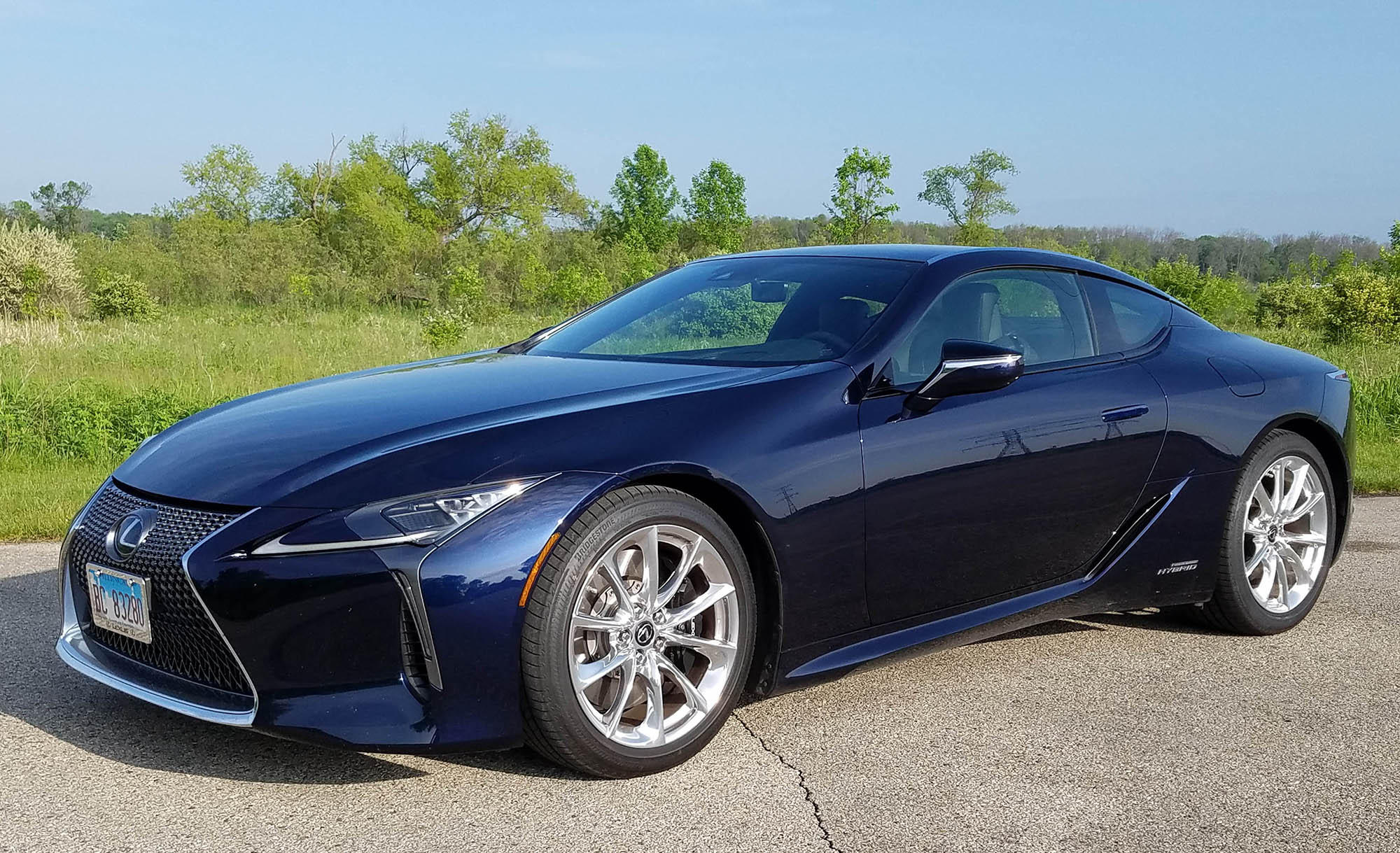 2019 Lexus LC 500h Owners Manual