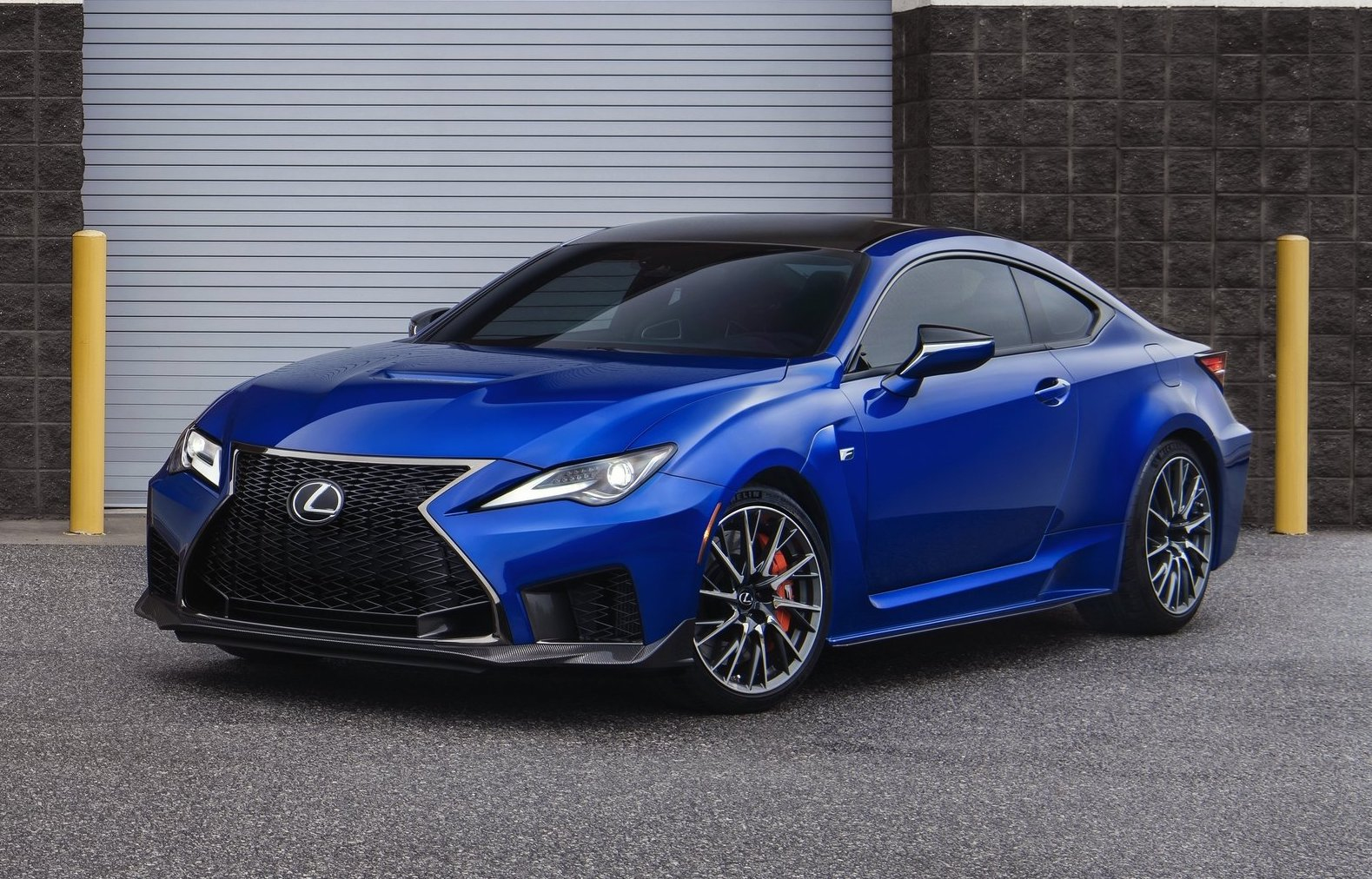 2020 Lexus RC F Gets Launch Control Track Edition Cuts