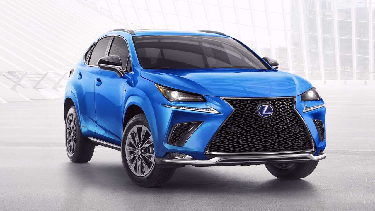 2021 Lexus NX 300h F Sport Debuts With Black Line Special