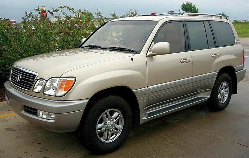 2001 Lexus LX 470 Owners Manual