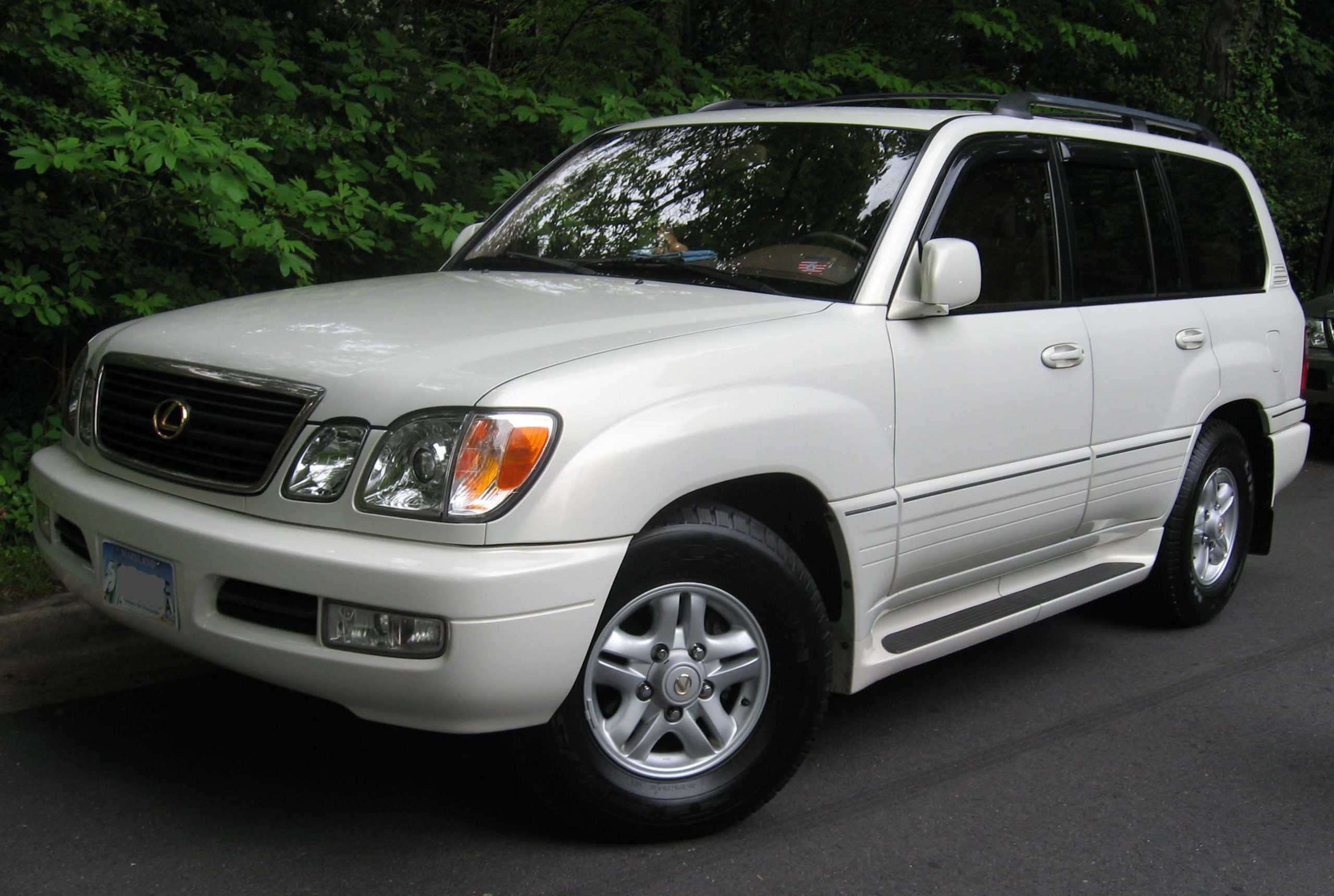 2002 Lexus LX 470 Owners Manual