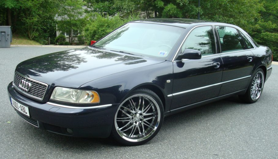 2001 Audi A8 Owners Manual