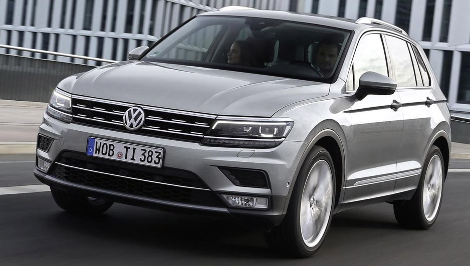2016 Volkswagen Tiguan Owners Manual