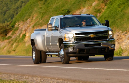 2011 Chevrolet Silverado 3500 Owners Manual