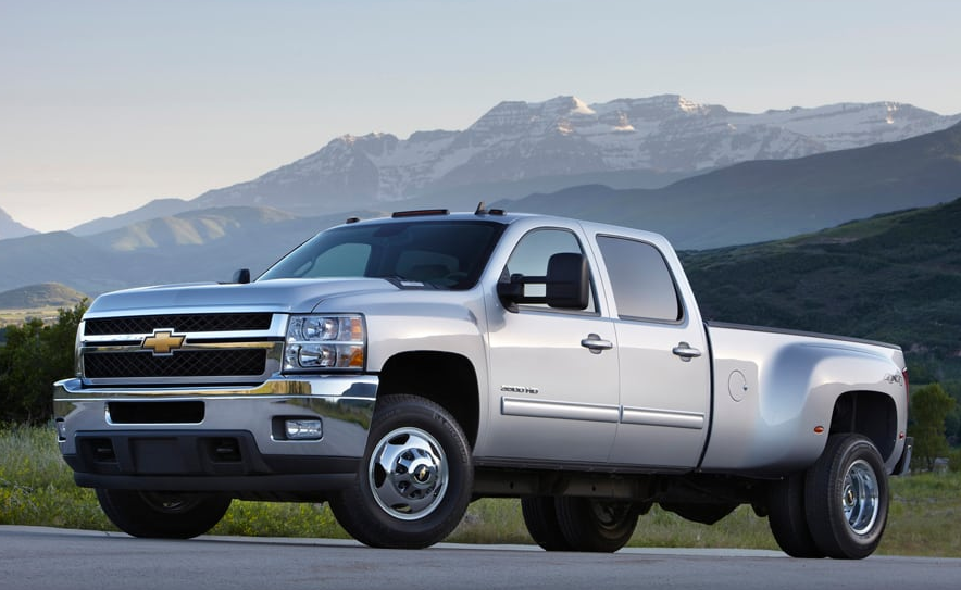 2012 Chevrolet Silverado 3500 Owners Manual