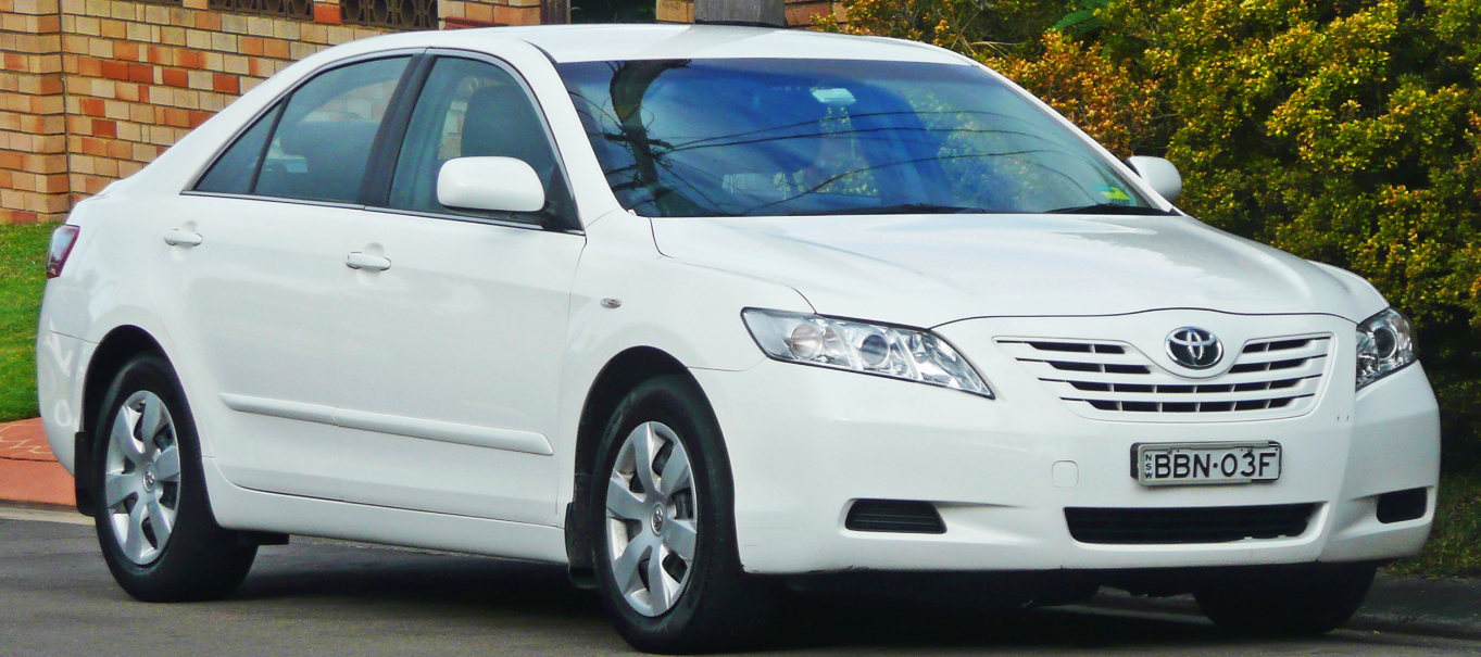 2009 Toyota Camry Owners Manual