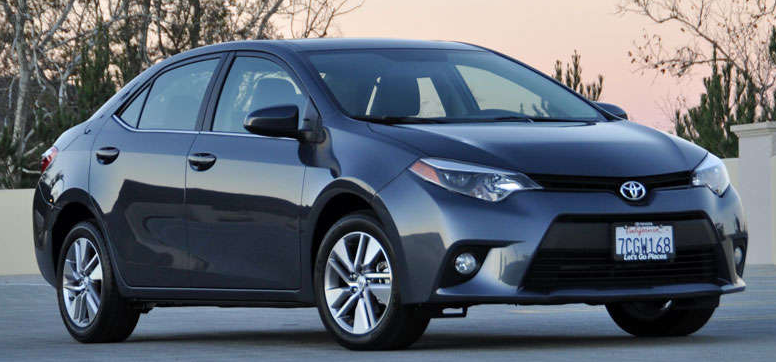 2015 Toyota Corolla Owners Manual
