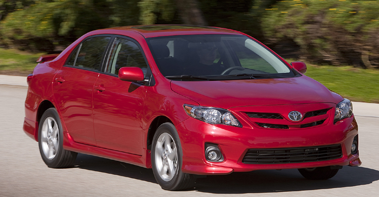 2011 Toyota Corolla Owners Manual