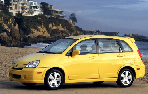2002 Suzuki Aerio Owners Manual