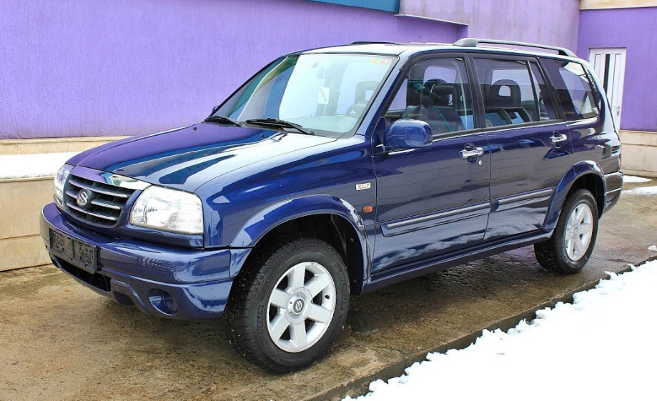 2002 Suzuki Vitara Owners Manual