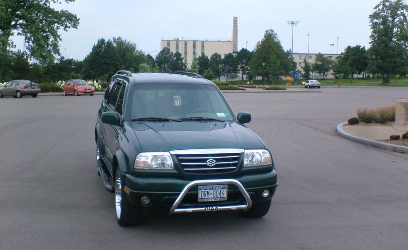 2002 Suzuki XL-7 Owners Manual