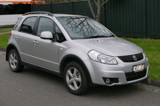 2007 Suzuki SX4 Owners Manual