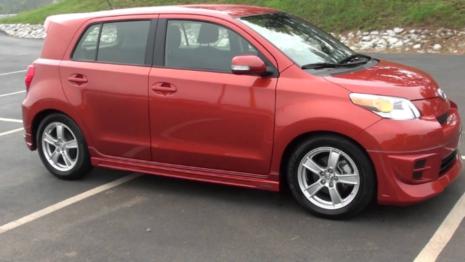 2008 Scion xD Owners Manual