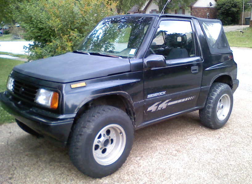1994 Suzuki Sidekick Owners Manual
