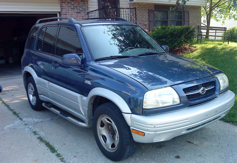1999 Suzuki Grand Vitara Owners Manual