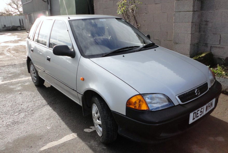 2001 Suzuki Swift Owners Manual