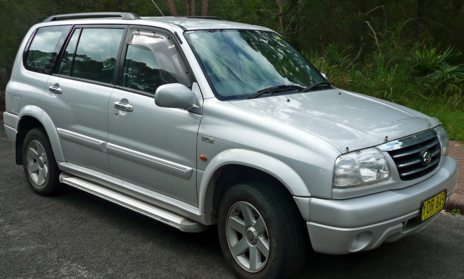 2001 Suzuki Vitara Owners Manual