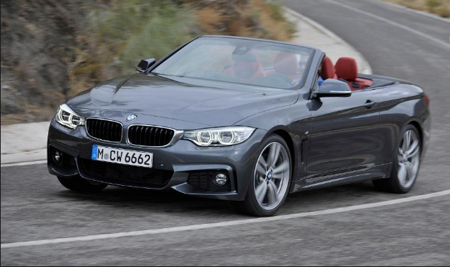 2014 BMW 4 Series Convertible Owners Manual