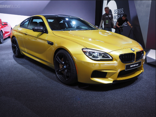 2016 BMW M6 Owners Manual