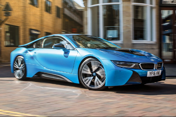 2017 BMW i8 Owners Manual