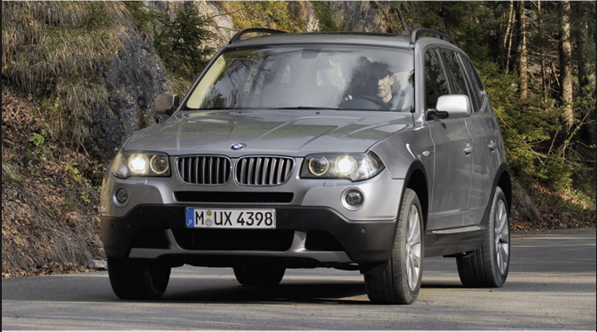2008 BMW X3 Owners Manual