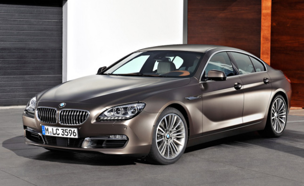2013 BMW 6 Series Gran Coupe Owners Manual