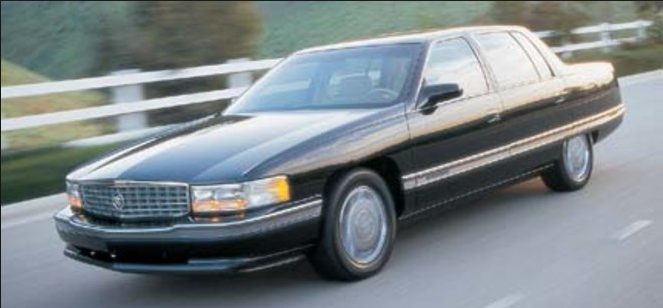 1996 Cadillac DeVille Owners Manual