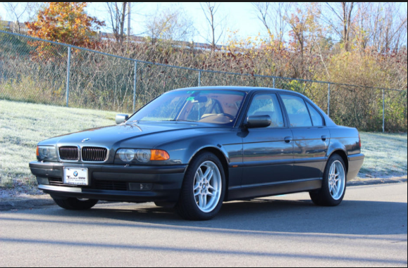 2000 BMW 740i Owners Manual