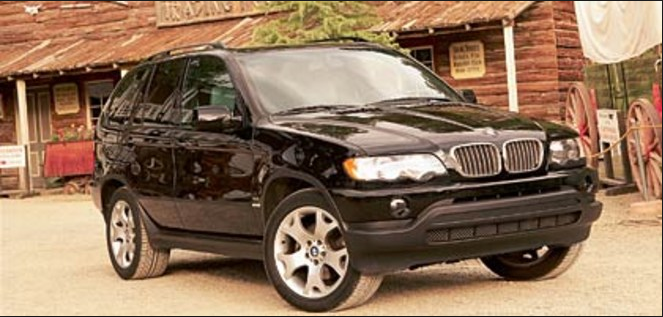 2001 BMW X5 Owners Manual