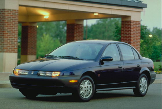 2001 Saturn S-Series Owners Manual