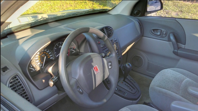 2002 Saturn Vue Interior and Redesign